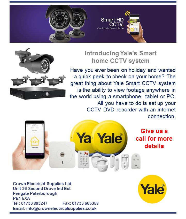 Yale CCTV System