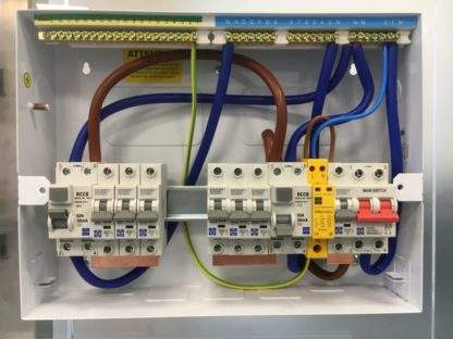 Lewden SRG1VCU Installed in split load board