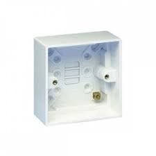 HAGER WMPB1-28 SINGKLE 28MM MOULDED BOX