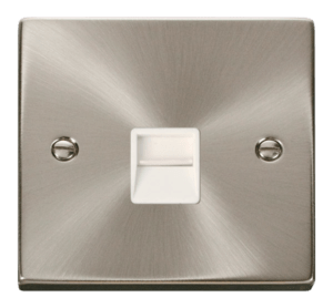 CLICK VPSC125WH TELEPHONE SOCKET SECONDARY