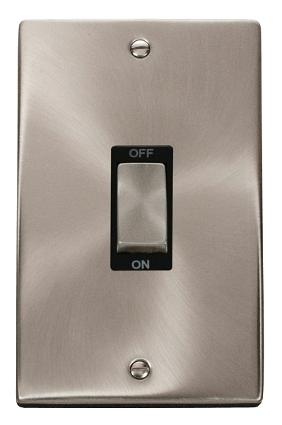 CLICK VPSC502BK VERTICAL COOKER SWITCH 2 GANG
