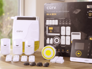 CURV CURVAL01 WIRELESS HOME ALARM KIT