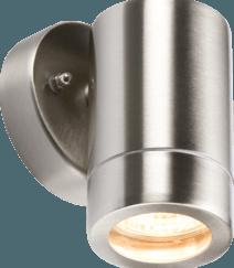 WALL1L 230V IP65 Lightweight Stainless Steel Fixed GU10 Light