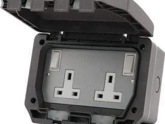 STYLE PSIP2972 TWIN SOCKET IP66 OUTDOOR