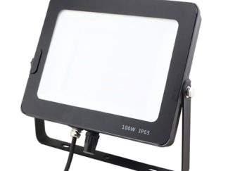 LyvEco 9755B. 100W LED Floodlight, 8000 Lumens, 6000 Kelvin Daylight. IP65 rated. Size: 206 x 271mm 25,000 hours average life. 2 Year warranty. Accepts detachable PIR (9759B)