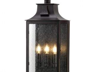 ELSTEAD BALMORAL 3 LIGHT WALL LANTERN
